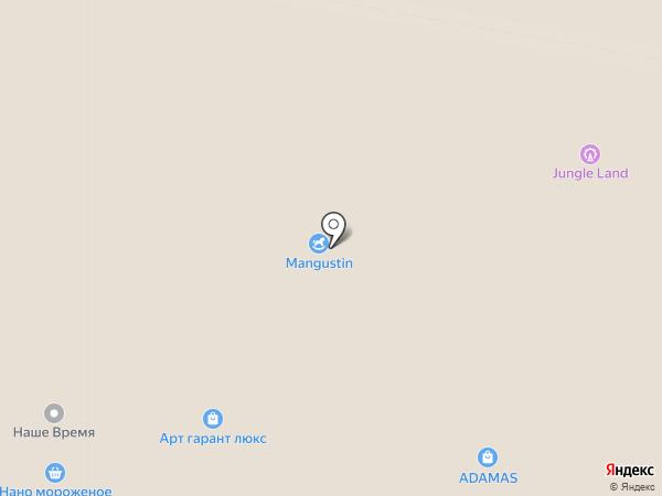 Адамас на карте Красногорска