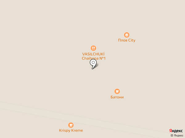 Вок Мания на карте Красногорска