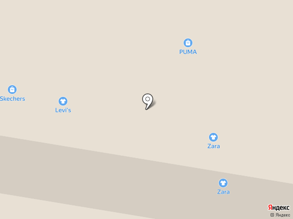 ZARA на карте Красногорска