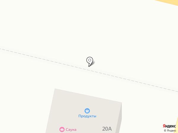 Тополек на карте Анапы