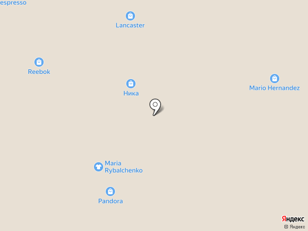 Квадра на карте Красногорска
