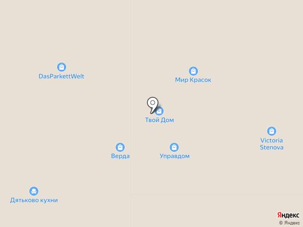 Melir.ru на карте Москвы