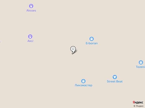 Линзмастер на карте Красногорска