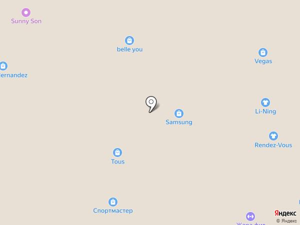 Экран на карте Красногорска