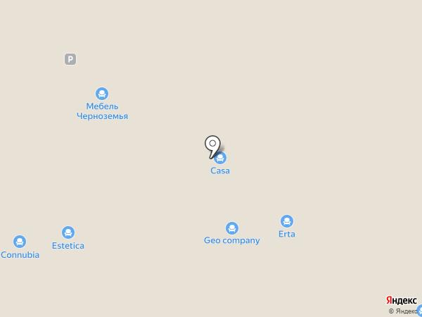 Матрасбург на карте Москвы