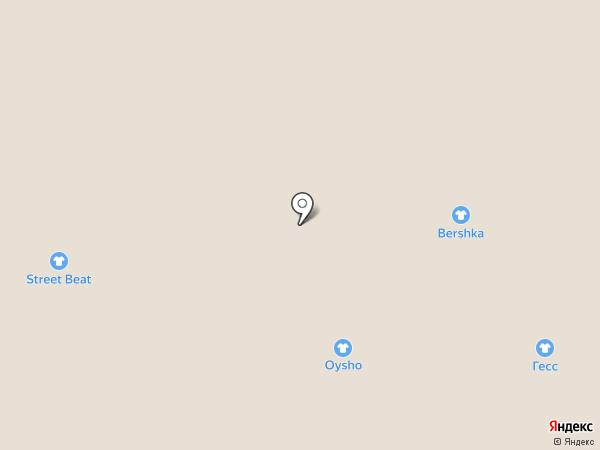 Bershka на карте Красногорска