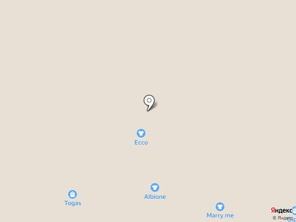 Albione на карте Красногорска