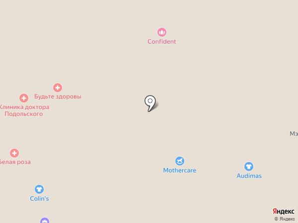 Mothercare на карте Красногорска
