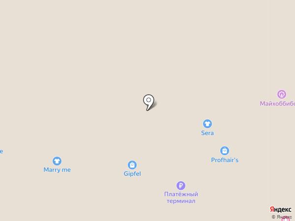 GESTO на карте Красногорска