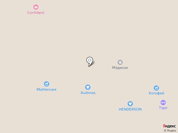 Henderson на карте Красногорска