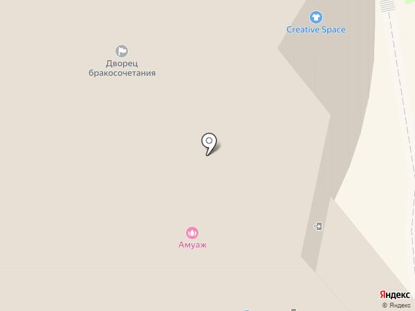 Абада на карте Красногорска