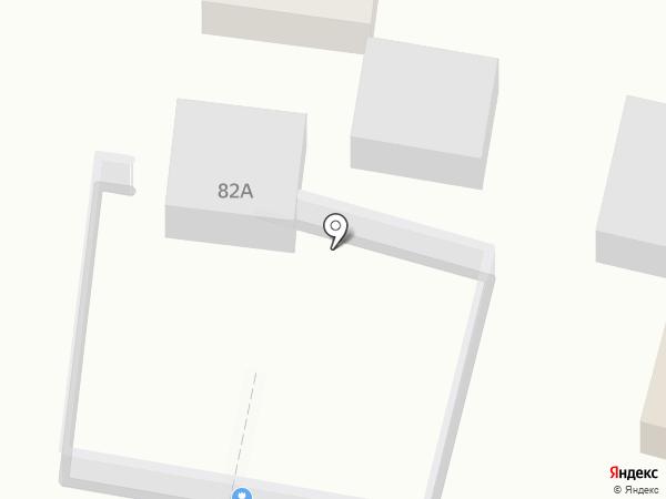Чистый город на чистой машине на карте Анапы