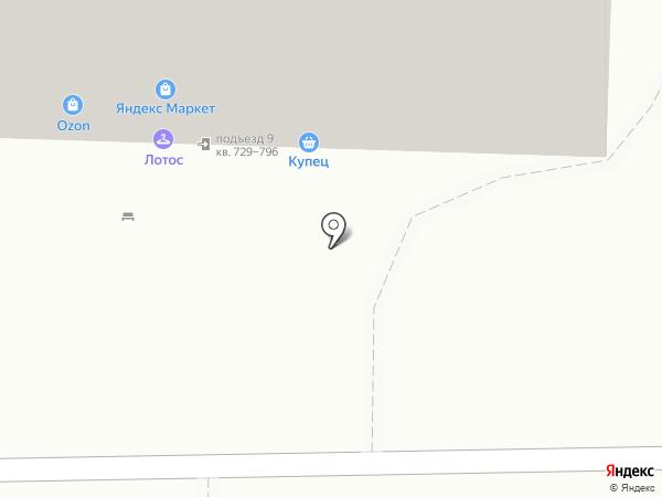 Фасоль на карте Химок
