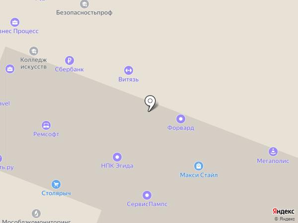 Florexim на карте Москвы