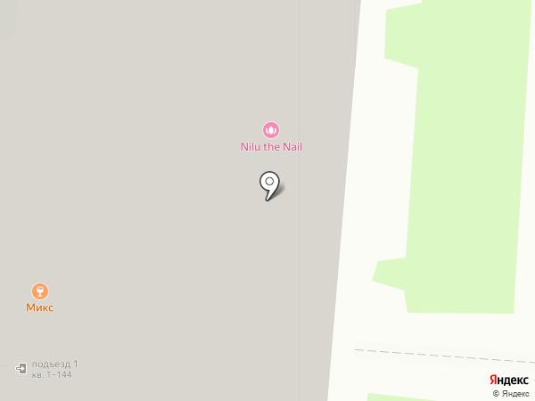 Новокуркино на карте Химок