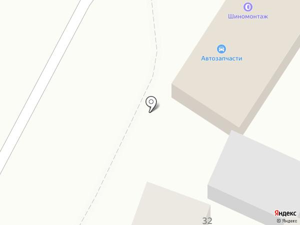 Сабина на карте Анапы