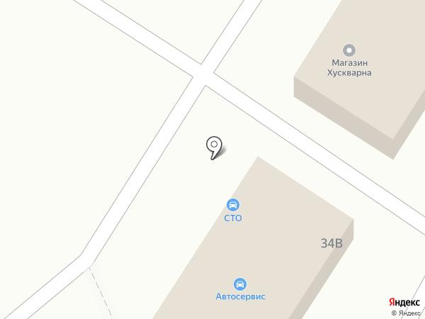 Магазин автозапчастей на карте Анапы