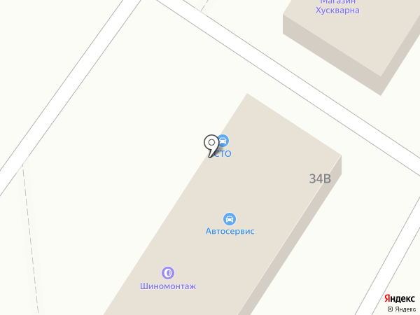 Магазин автомасел на Тбилисской на карте Анапы