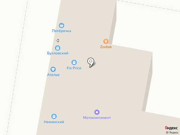 Бухловский на карте Москвы