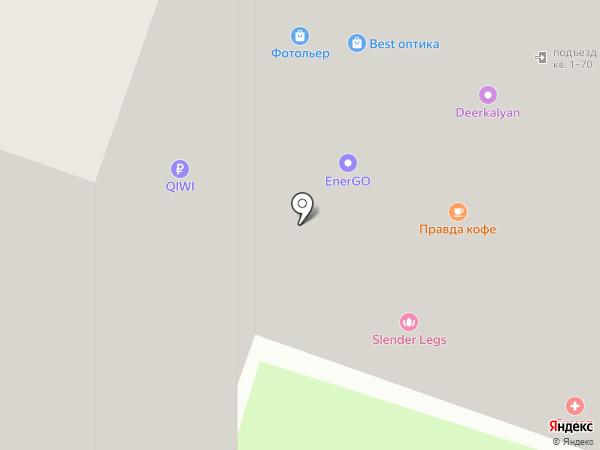 РоссТур на карте Москвы