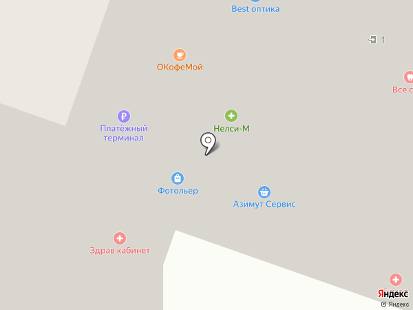 ЮНИБЕЛ на карте Москвы