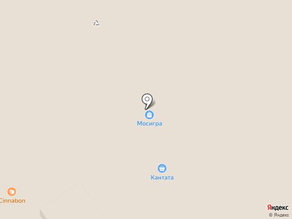 Кантата на карте Химок