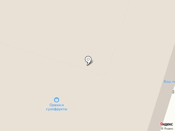 Кислородный бар на карте Москвы