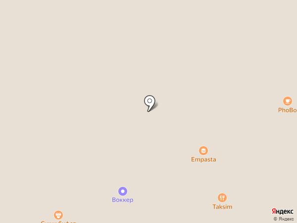 Воккер на карте Химок