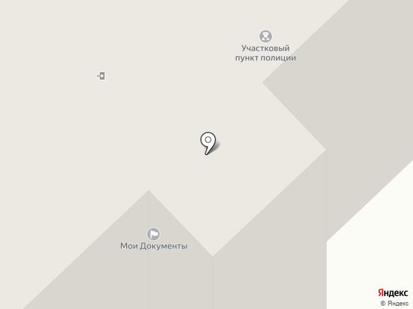 Участковый пункт полиции на карте Заречья