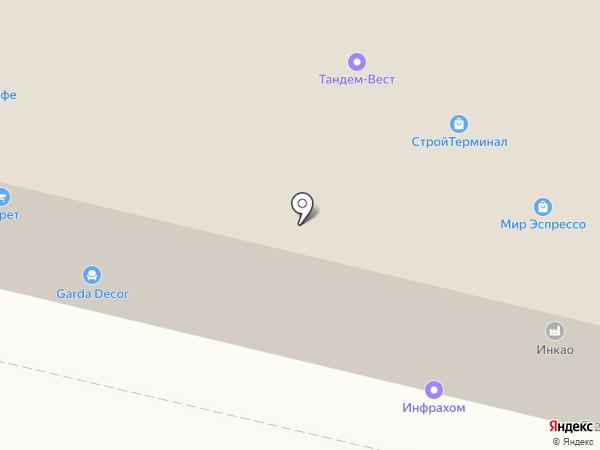 ЕТС-М на карте Москвы