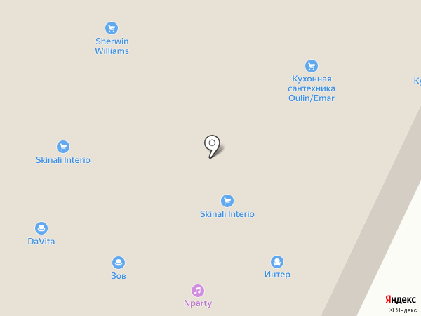 Verno сucine на карте Москвы
