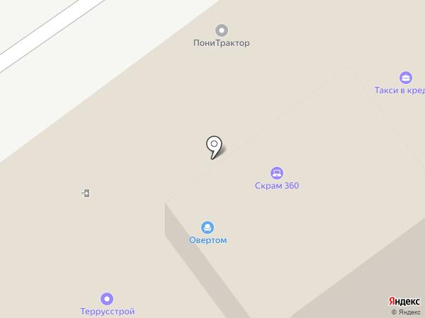 Овертом на карте Химок