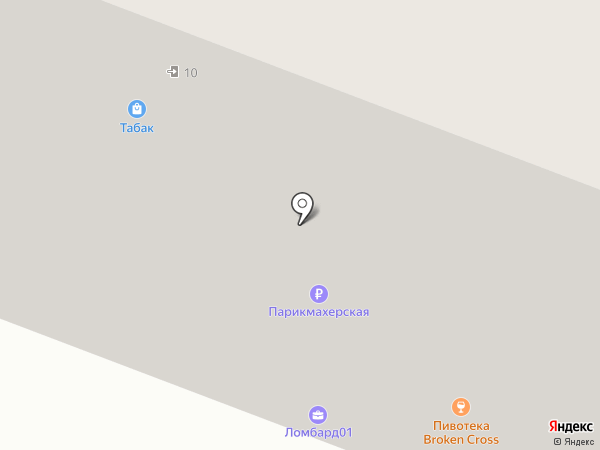 ЛомбардЪ-01 на карте Москвы