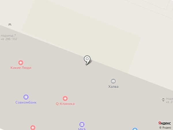 Совкомбанк на карте Москвы