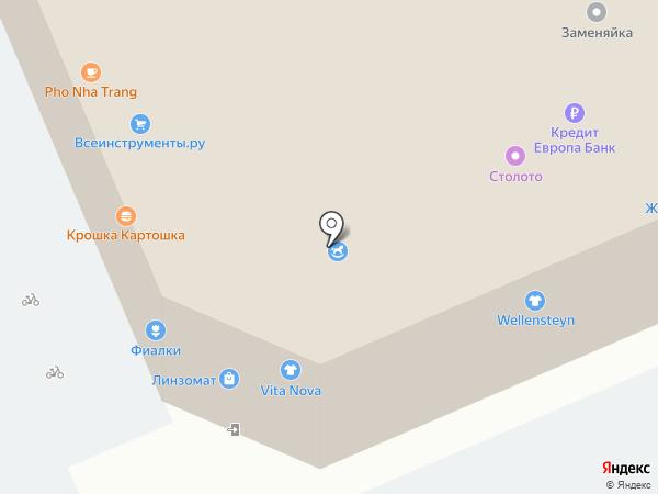 Идиллия на карте Москвы