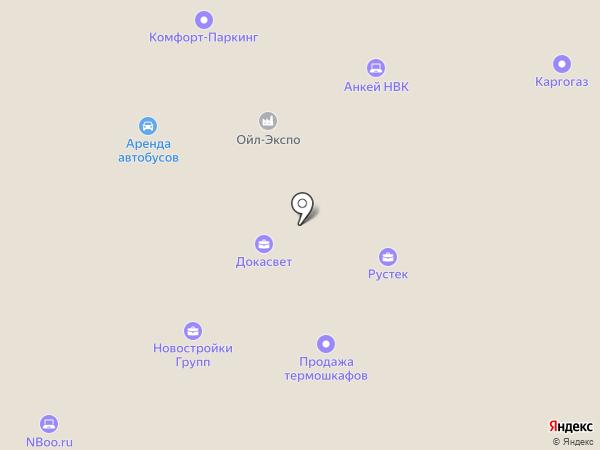 Комета-авто на карте Москвы