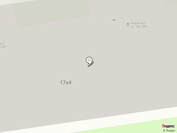 Штаб народной дружины Северо-Западного административного округа на карте Москвы