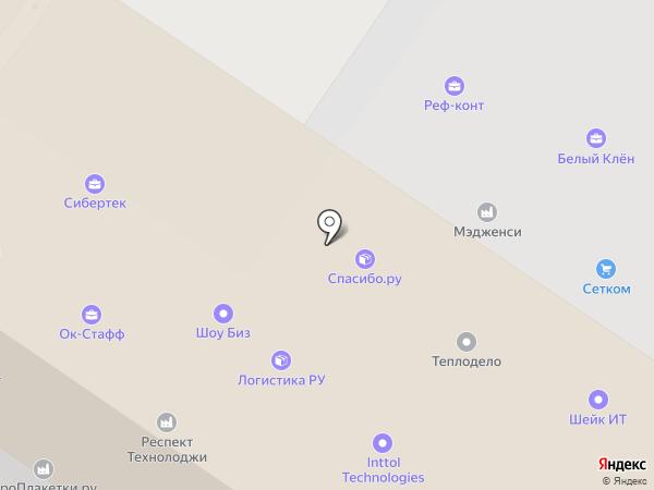 ОлТест на карте Москвы