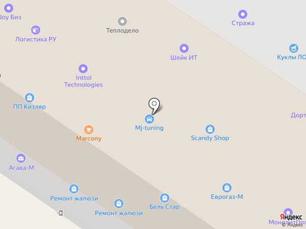 СМК на карте Москвы