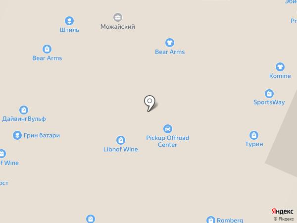 Foxland на карте Москвы