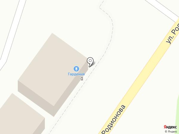 Гардения на карте Химок