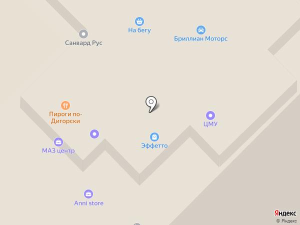 Гудвин на карте Москвы