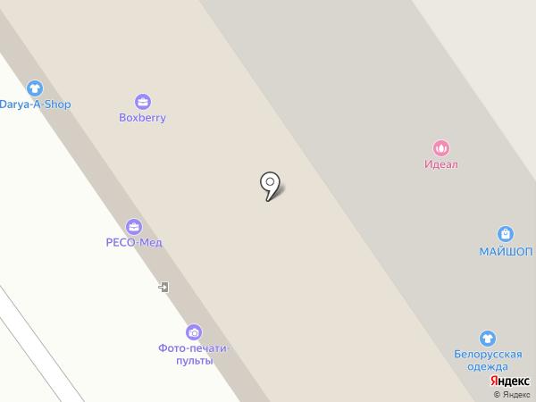 Геометрия окон на карте Химок