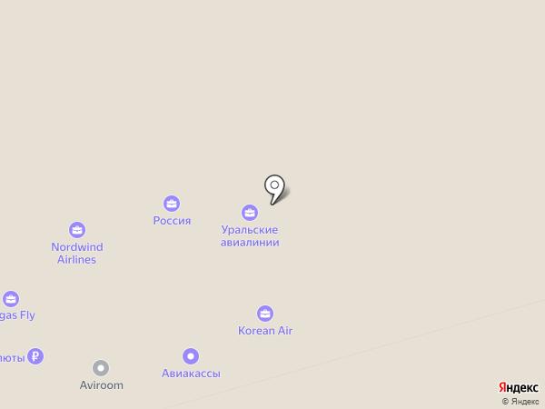 Korean Air на карте Химок