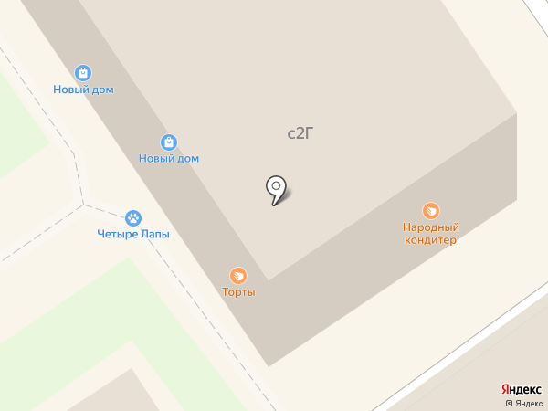 Новый дом на карте Химок
