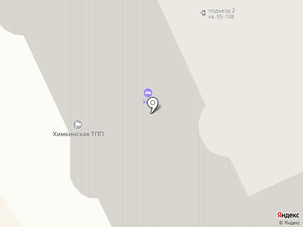 Геофрост на карте Химок