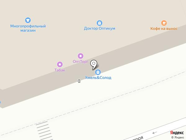 Экономъ на карте Москвы
