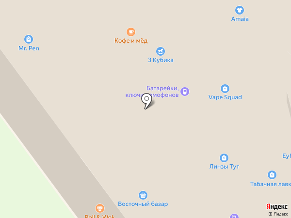Лисичка на карте Химок