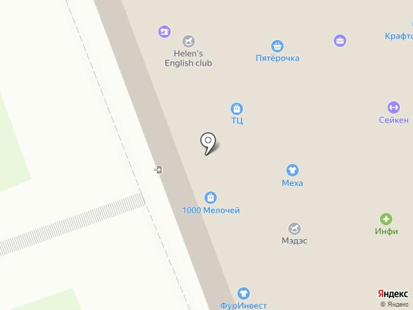 Фур Инвест на карте Щапово