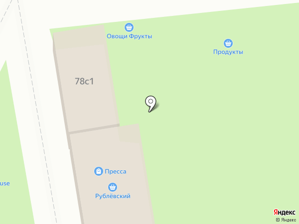 Рублёвский на карте Химок
